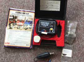 Vintage, Como Mini Drill Kit 399D, hobbyists engraving kit.
