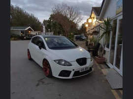 Seat Leon, 2007 (57) White Hatchback, Manual Diesel, 193,000 miles