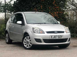 2007 (07) FORD FIESTA 1.25 Silver Limited 3 Dr Hatchback in SILVER Mileage Only 69,834 Miles, Recent New MOT 14th FEBRUARY 2020