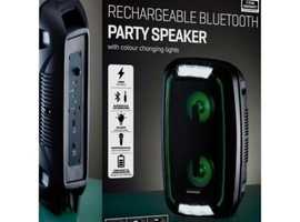 DAEWOO PORTABLE LED BLUETOOTH PARTY SPEAKER