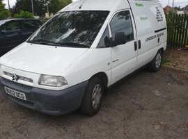 Citroen Dispatch Combi, 2002 (02) white other, Manual Diesel, 100,000 miles