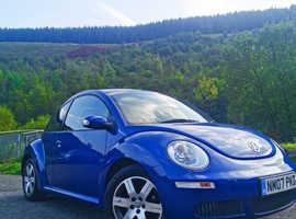 Volkswagen Beetle, 2007 (07) Blue Hatchback, Manual Petrol, 48,877 miles