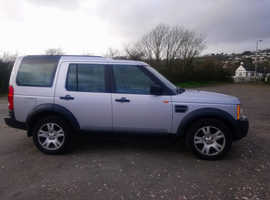 Land Rover Discovery, 2007 (07) Silver Estate, Automatic Diesel, 125,000 miles