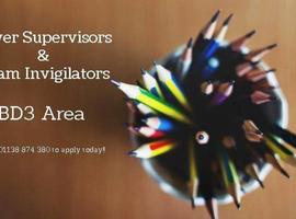 Cover Supervisors & Exam Invigilators