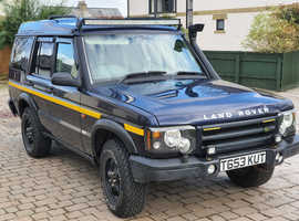 Land Rover Discovery, 1999 (T) Blue Estate, Manual Diesel, 203 miles