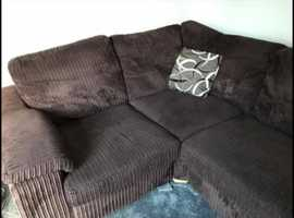 Need gone ASAP - excellent condition brown corner sofa