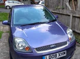 Ford Fiesta, 2008 (08) Purple Hatchback, Manual Petrol, 80,694 miles