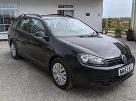 Volkswagen Golf, 2013 (63) Black Estate, Manual Diesel, 145,186 miles
