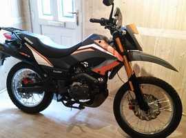 keyway 125 motorbike
