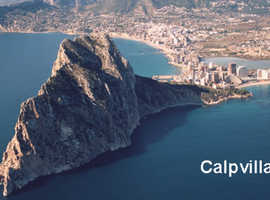 THREE OF THE BEST HOLIDAY VILLAS IN CALPE - COSTA BLANCA SPAIN - Price Direct from owner (no agents).