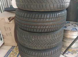 4 x Pentaulos Alloy wheels and tyres - 114.3