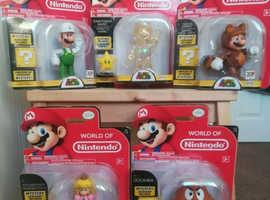 Nintendo figures x5 BNIB
