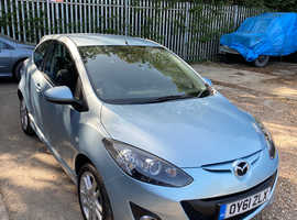 Mazda MAZDA 2, 2011 (61) Blue Hatchback, Manual Petrol, 46,341 miles