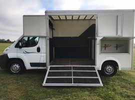 3.5 tonne Citroen Relay Horsebox