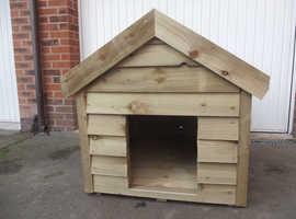 Large Wooden Dog Kennel For Sale