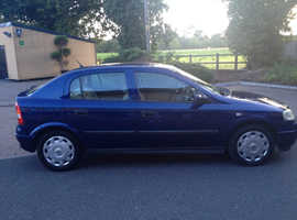 VAUXHALL ASTRA 1.6 LS 2003 A STUNNING CLEAN RELIABLE CAR WITH 6 MONTHS MOT & HISTORY CHEAP CAR