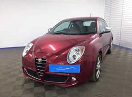 2011 Alfa Romeo Mito With No Credit Scoring Car Finance*