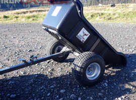 EQUESTRIAN TRAILER   MUCKING OUT ATV TRAILER   QUAD TRAILER   BUILDERS BARROW **FREE 24 HOUR DELIVERY**