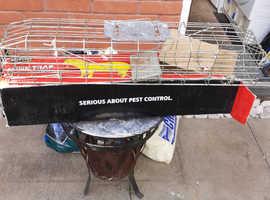 Rat/mink trap