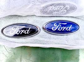 Ford Oval Blue badge (original)