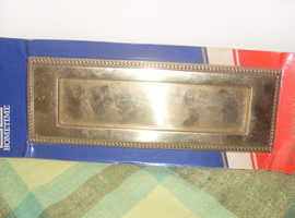 Large Brass Georgian Brass Letter Plate