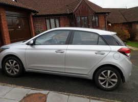 Hyundai i20, 2016 (16) silver hatchback, Manual Petrol, 13,200 miles