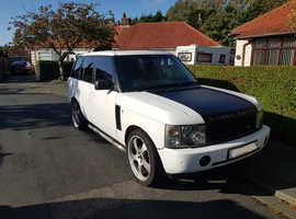 Land Rover Range Rover, 2003 (03) White Estate, Automatic Petrol, 148,000 miles