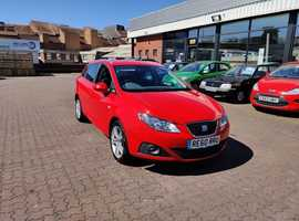 Seat Ibiza, 2011 (60) Red Estate, Manual Petrol, 98,989 miles