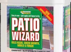 Patio wizard Everbuild 5 litre tub Moss & Algae remover