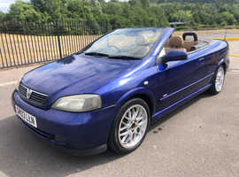2003 Vauxhall Astra Bertone Cabriolet 1.8 Petrol, 12 months MOT