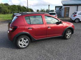 Dacia Sandero, 2014 (14) Red Hatchback, Manual Petrol, 47,000 miles