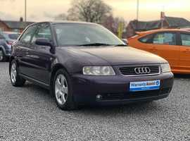Audi A3, 2003 (03) Purple Hatchback, Manual Petrol, 146,000 miles