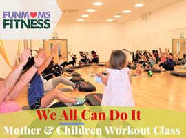 Mother & Children Workout Class