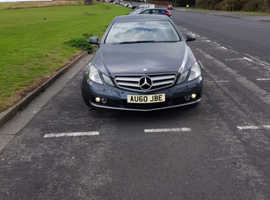 Mercedes E Class, 2010 (60) Grey Coupe, Automatic Diesel, 72,500 miles