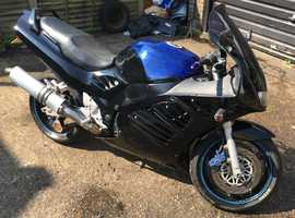 1994 (M) SUZUKI RF900R in BLACK, NEW 12 MONTH MOT, MILEAGE ONLY 24,285 Miles