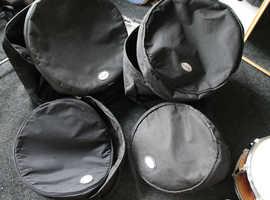 4 soft drum cases