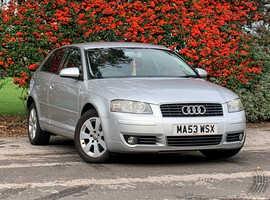Audi A3 2.0 SE TDI, 2003 (53) Silver Hatchback, Manual Diesel, 137,762 miles, LONG MOT