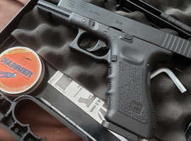 Air pistol glock 17 blowback