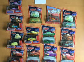 Disney's ORIGINAL first set of Cars NEW & SEALED - at £10.00each