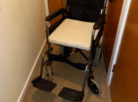 Wheelchair with motor