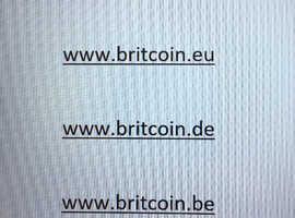 For Sale  Britcoin domain  .EU  .NL  .BE  .DE