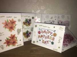 Handmade Mother's Day cards for sale