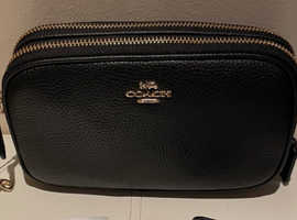 Lost  Coach black purse