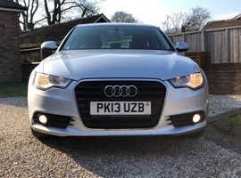 Audi A6, 2013 (13) Silver Saloon, Manual Diesel, 123,000 miles