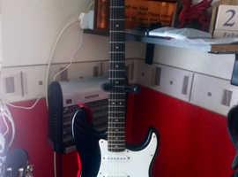 electric guitar 10 Watt Amp grab complete setup