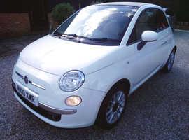 Fiat 500, 2010 (10) Convertible, 6 Speed 1.4 Manual Petrol
