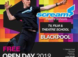 SCREAM THEATRE SCHOOLS FREE OPEN DAY!