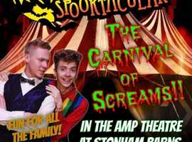 Carnival of Screams - Family Halloween Show at Stonham Barns