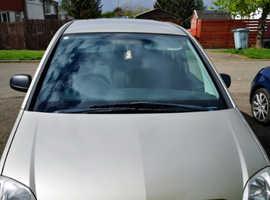 Vauxhall Meriva, 2007 (57) Gold MPV, Manual Petrol, 84,444 miles