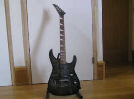 Jackson Dinky JS32RT in trans black (mint condition/unused)